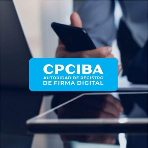 CPCIBA: Autoridad de Registro de Firma Digital