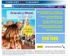 CONFORT Turismo: Paquetes exclusivos con descuentos. Verano 2020